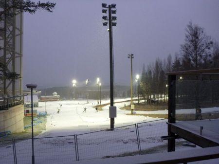 Snow in Ostersund