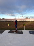On the Ostersund Biathlon Range